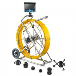 38mm Sewer Drain Pipe Inspection Camera System with 60m/200ft ~ 120m/400ft Cable